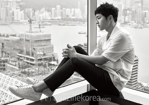 Song Joong Ki Wallpaper Containing A Business Suit Entitled SONG JOONG KI FOR