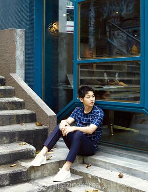 SONG JOONG KI FOR HARPER'S BAZAAR KOREA