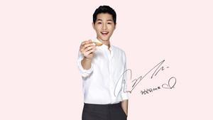 SONG JOONG KI for Dong Won Tuna ad