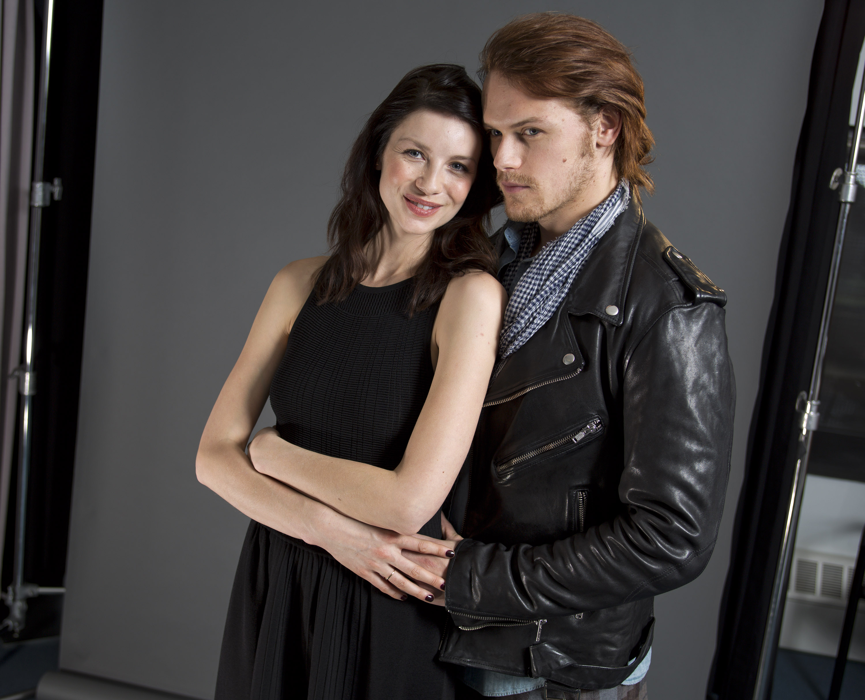 Sam Heughan and Caitriona Balfe Photoshoot