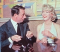Marylin and Yves - marilyn-monroe photo