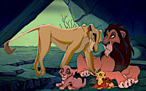 Scar and Zira's family