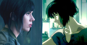 Scarlett Johansson First Look - Ghost in the Shell