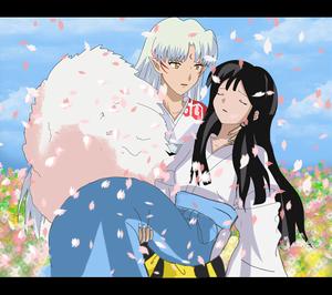 Sesshomaru and Sakura(OC)