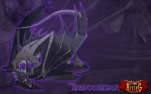 Flight Rising wallpaper possibly with a sign entitled Shadowbinder