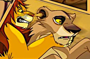 Simba and Zira