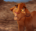 Simba in tears - simba photo