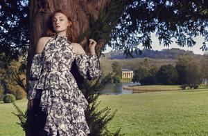 Sophie Turner Net-A-Porter Magazine Photoshot