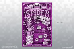 labah-labah, laba-laba Bake Sale flyer