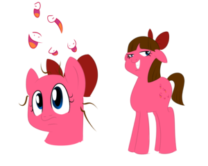 Staci as a pony