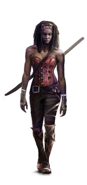 Steampunk Michonne
