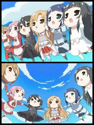 Sword Art Online ちび