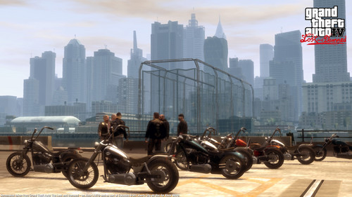 Grand Theft Auto IV The lost And Damned wallpaper possibly containing a business district called TLAD 11