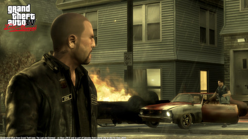 Grand Theft Auto IV The Lost And Damned Hintergrund with a feuer entitled TLAD 20
