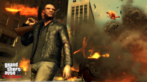 Grand Theft Auto IV The lost And Damned wallpaper with a fire, a fire, and a fireplace titled TLAD 23