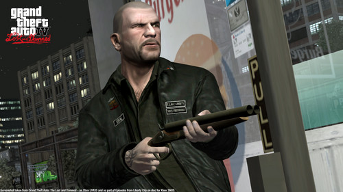 Grand Theft Auto IV The lost And Damned wallpaper possibly with a green baret and a business suit titled TLAD 41