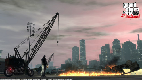 Grand Theft Auto IV The Lost And Damned Hintergrund entitled TLAD 52