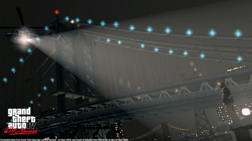 Grand Theft Auto IV The lost And Damned wallpaper possibly with a suspension bridge entitled TLAD 71