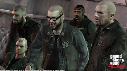 Grand Theft Auto IV The Lost And Damned Hintergrund containing a green beret, fatigues, ermüden, ermüdet, kampfanzug, schlachtkleid, and schlacht-kleid called TLAD 82