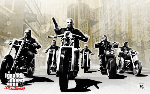 Grand Theft Auto IV The lost And Damned wallpaper titled TLAD Ride