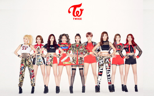 Twice (JYP Ent) wallpaper titled TWICE wallpaper