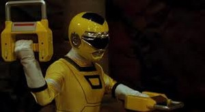 Tanya Morphed As The Yellow Turbo Ranger