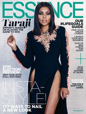 Taraji P. Henson on the cover of Essence - November 2015
