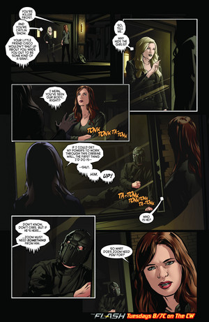 The Flash - Episode 2.19 - Back To Normal - Comic cuplikan
