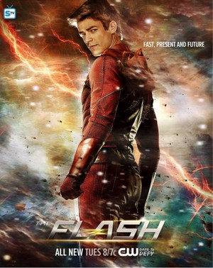 The Flash - Episode 2.21 - The Runaway Dinosaur - Poster