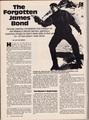 The Forgotten James Bond - P.32 (Starlog #75) - james-bond photo
