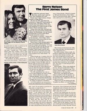 The Forgotten James Bond - P.33 (Starlog #75)