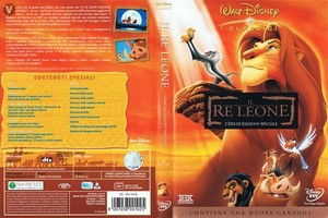 Walt Disney DVD Covers - The Lion King: 1994 Italian Front Cover