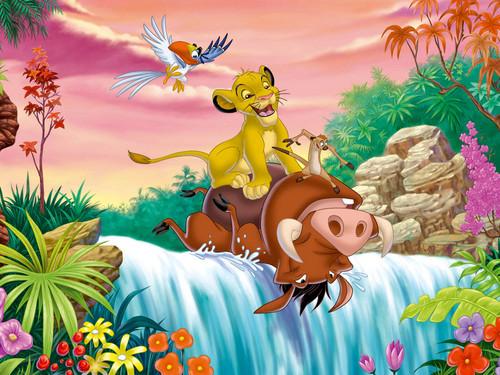 karakter walt disney wallpaper titled Walt disney wallpaper - The Lion King