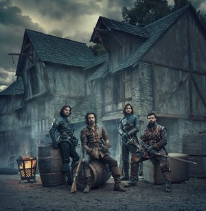 The Musketeers - Season 3 - Cast bức ảnh