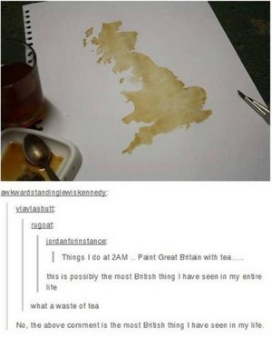 The most British thing