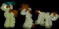 The pony evolution of Ezekiel - total-drama-island fan art