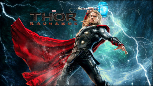 Thor: Ragnarok achtergrond possibly containing anime titled Thor: Ragnarök