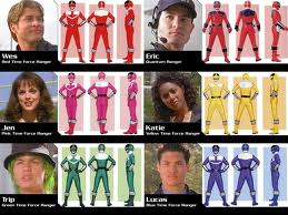 Time Force Power Rangers