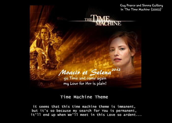 the time machine hg theme