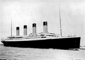 Titanic Real Titanic Before It Sunk On April 15th 1912