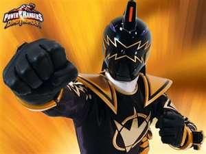 Tommy Morphed As The DT Black Ranger