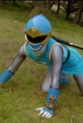 Tori Morphed As The Blue Wind Ranger