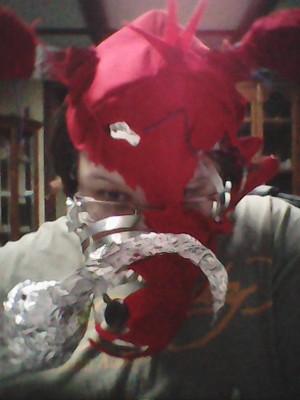 Torn Foxy Mask