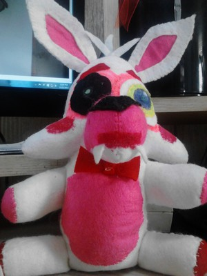 Toy Foxy/Mangle Plushy
