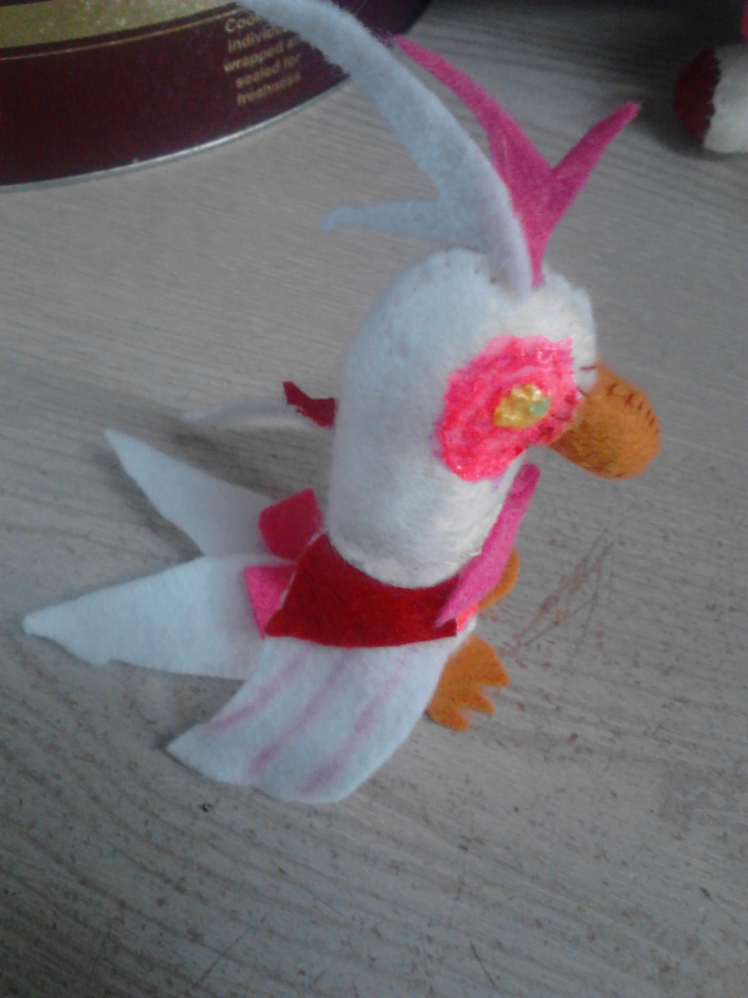 Toy Foxy/Mangle's Parrot Plushy