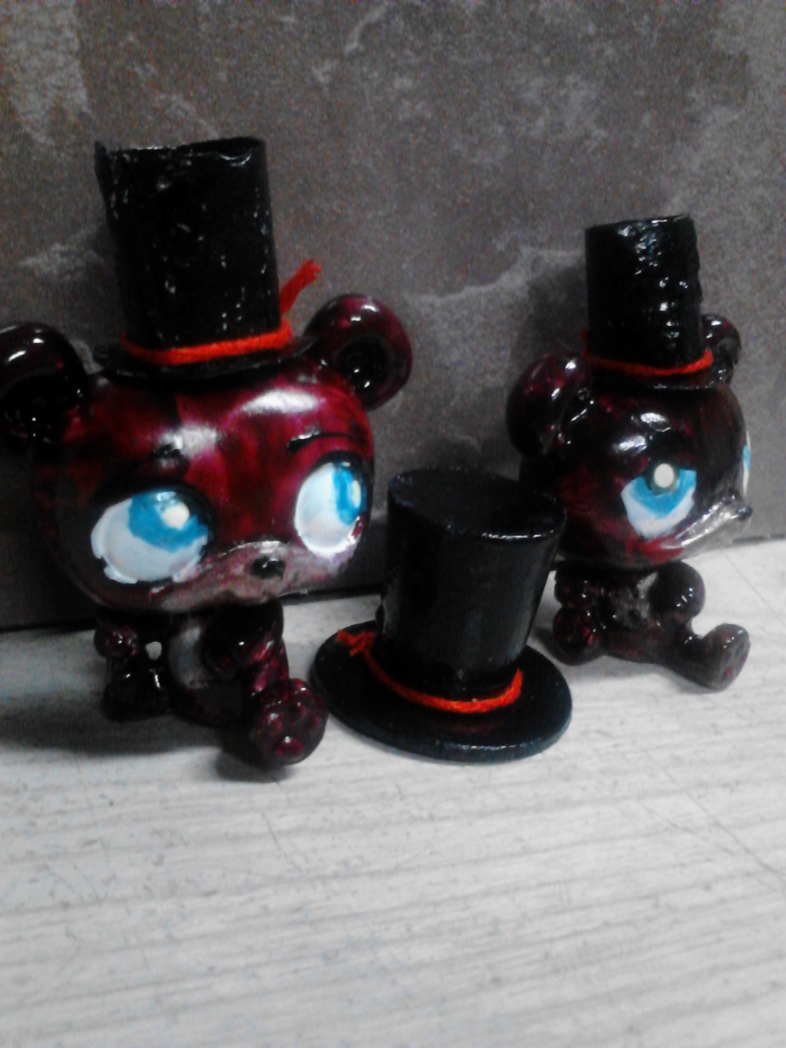 Toy and Normal Freddy Custom LPS