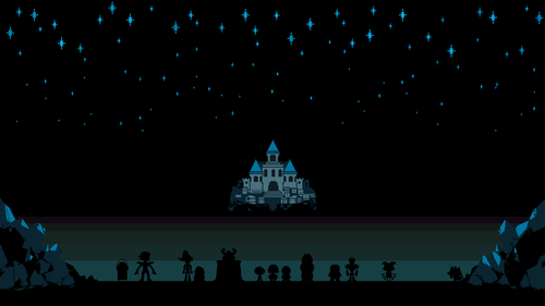 undertale wallpaper probably containing a fountain and a concert entitled Undertale Wallpaper