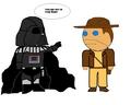 Vader and indie - darth-vader photo