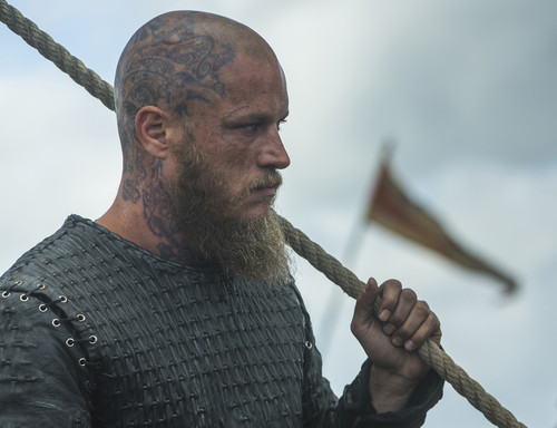 "Vikings (TV Series) karatasi la kupamba ukuta called Vikings ""The Last Ship"" (4x10) promotional picture"