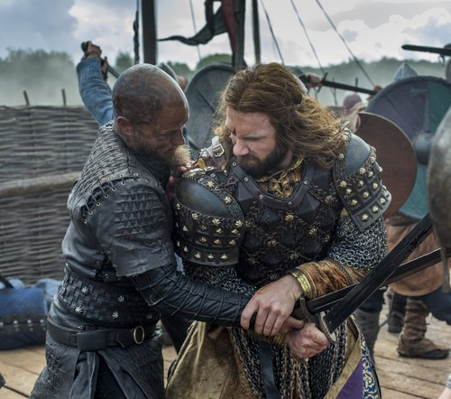 "Vikings (TV Series) karatasi la kupamba ukuta probably containing a green beret, a surcoat, and a rifleman entitled Vikings ""The Last Ship"" (4x10) promotional picture"